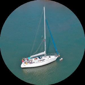 Sanzaru seatheplastic sailboat
